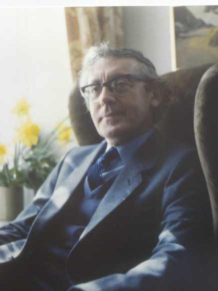 Charles Causley 1983 by Robert Tilling MBE R.I.