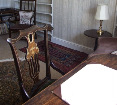 Charles Causley's Writing Table, 2014