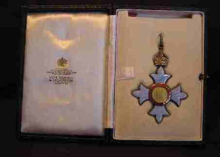 CBE Awarded: 1986