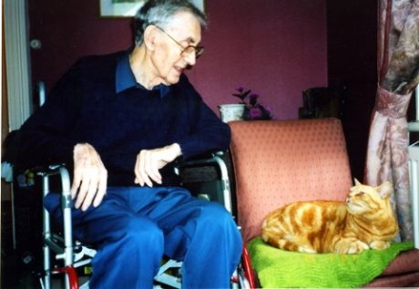 Charles and Rupert engaging in mutual admiration