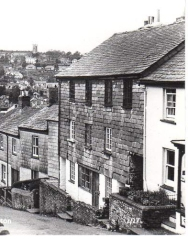 Causley's childhood home in St Thomas Hill