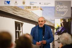 Malcolm introduces the plans for Charles Causley Festival 2015
